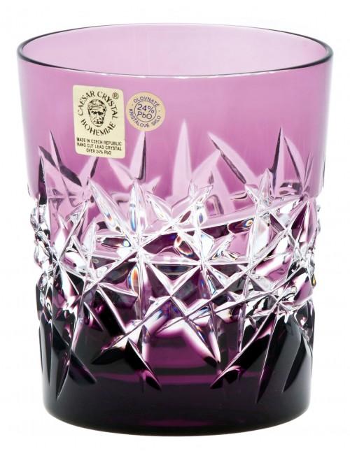 Krištáľový pohár Hoarfrost, farba fialová, objem 290 ml