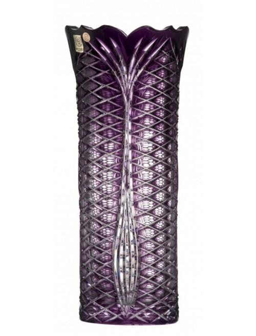 Krištáľová váza Ankara I, farba fialová, výška 310 mm