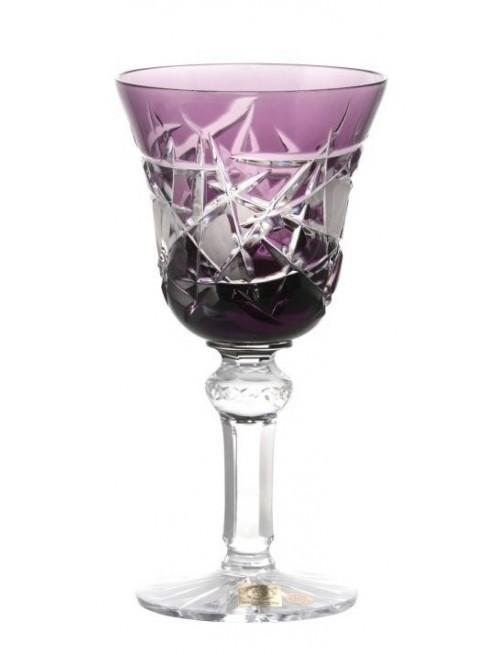 Krištáľový pohár na víno Mars, farba fialová, objem 240 ml