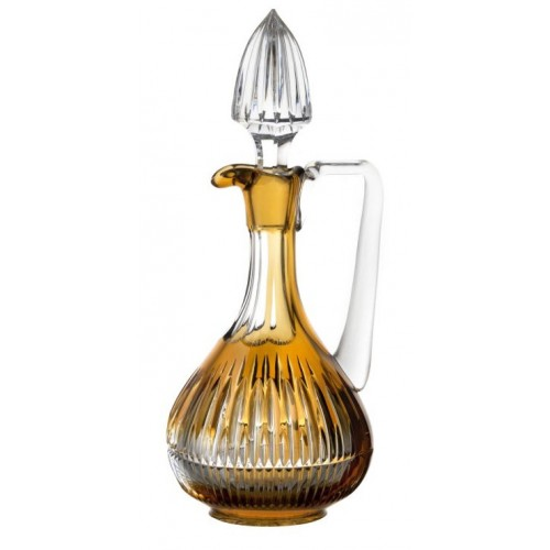 Krištáľová Karafa Thorn, farba jantárová, objem 950 ml