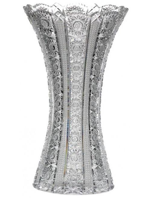 Krištáľová váza Iris, farba číry krištáľ, výška 255 mm