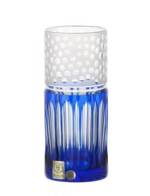 Krištáľový pohár Dalmatín, farba modrá, objem 350 ml