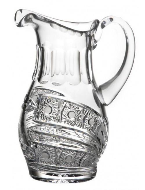 Krištáľový džbán Kometa, farba čirý krištáľ, objem 1250 ml