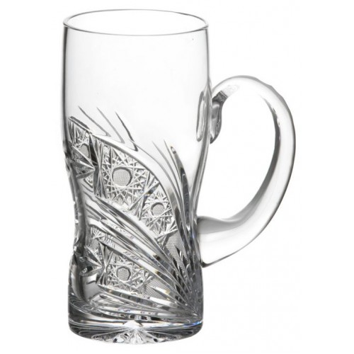 Krištáľový pohár Kometa, farba číry krištáľ, objem 500 ml