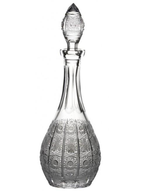 Krištáľová fľaša 500PK, farba číry krištáľ, objem 750 ml