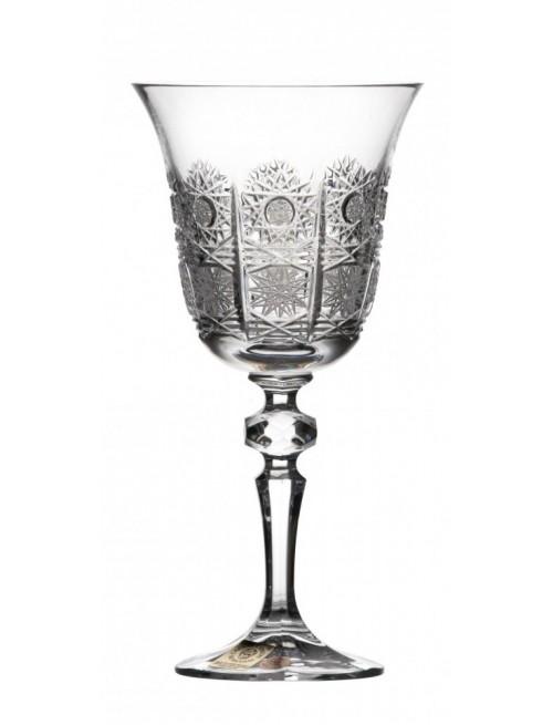 Krištáľový pohár na víno Laura, farba číry krištáľ, objem 220 ml