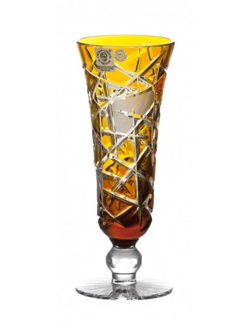 Krištáľový pohár na víno Mars, farba jantárová, objem 150 ml