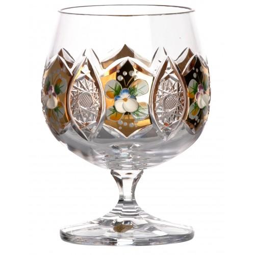 Krištáľový pohár smalt, farba číry krištáľ, objem 250 ml