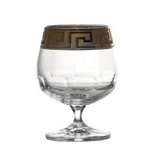 Krištáľový pohár brandy smalt, farba číry krištáľ, objem 250 ml
