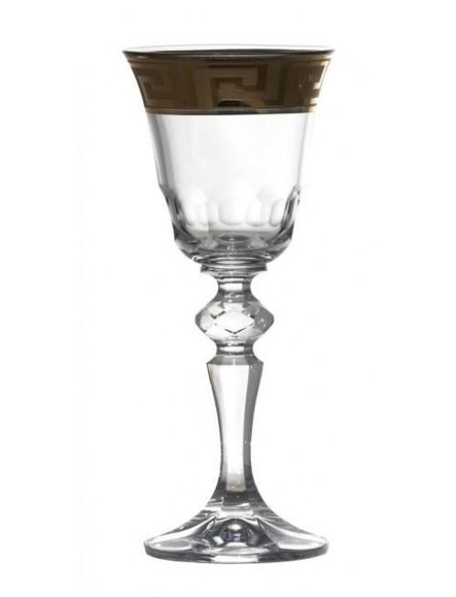 Krištáľový pohárik smalt, farba číry krištáľ, objem 60 ml