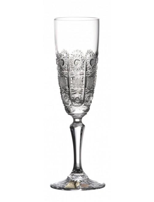 Krištáľová flauta Chamberly, farba číry krištáľ, objem 150 ml