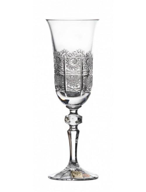 Krištáľová flauta Laura, farba číry krištáľ, objem 150 ml