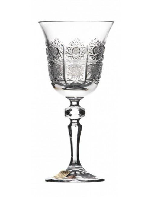 Krištáľový pohár na víno Laura, farba číry krištáľ, objem 170 ml