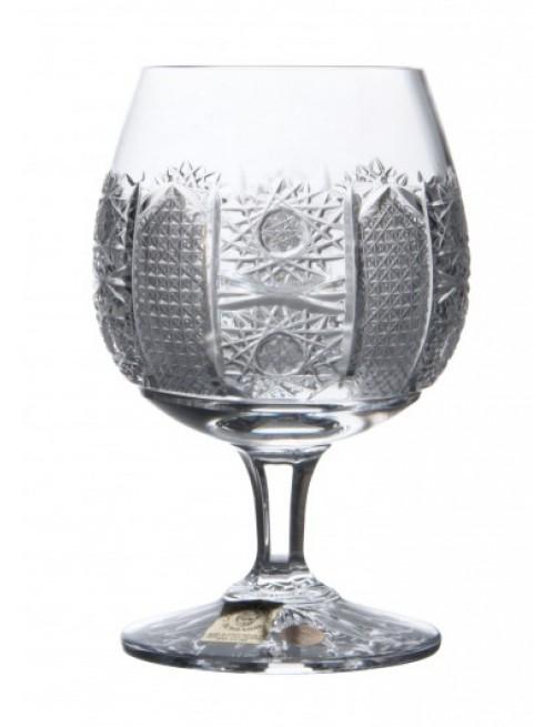 Krištáľový pohár brandy Richmond iris, farba číry krištáľ, objem 250 ml