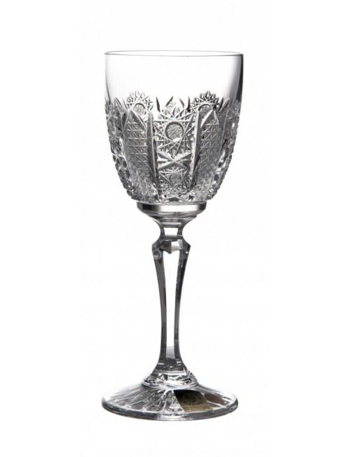 Krištáľový pohár na víno Chamberly desert iris, farba číry krištáľ, objem 140 ml