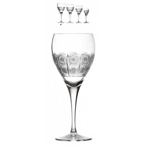 Krištáľový pohár na víno Fiona, farba číry krištáľ, objem 420 ml