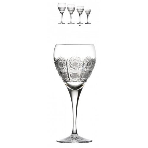 Krištáľový pohár na víno Fiona, farba číry krištáľ, objem 270 ml