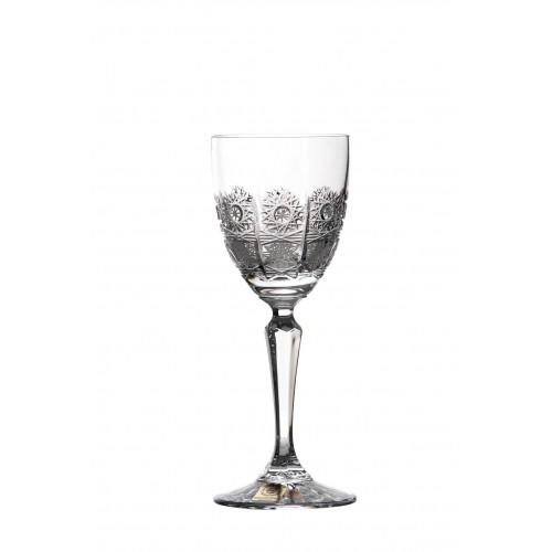 Krištáľový pohár na víno 500PK, farba číry krištáľ, objem 140 ml