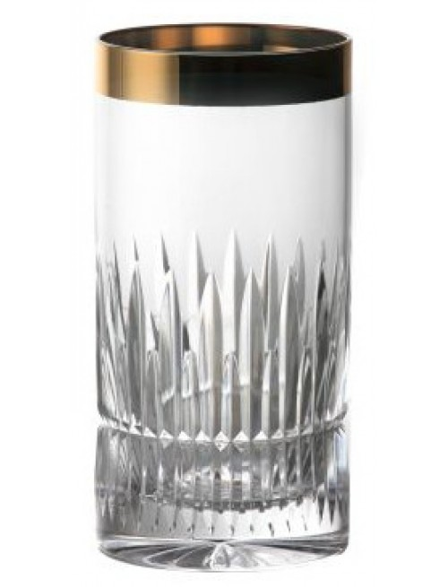 Krištáľový pohár Thorn zlato, farba číry krištáľ, objem 350 ml