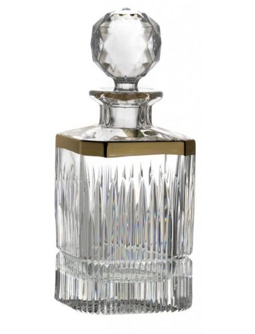 Krištáľová fľaša Thorn, farba číry krištáľ, objem 800 ml