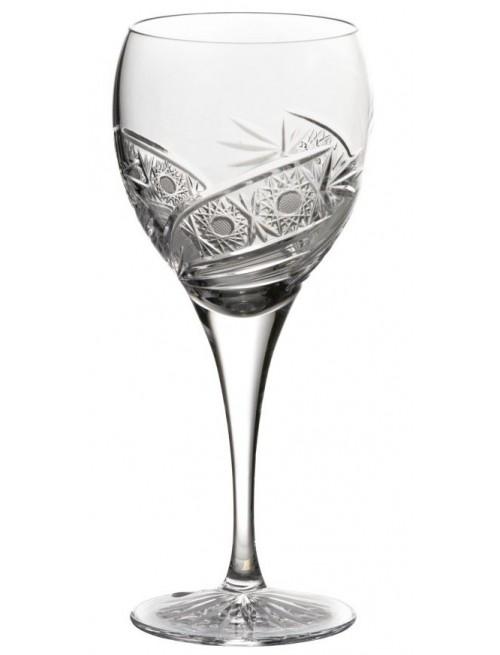 Krištáľový pohár na víno Kometa, farba číry krištáľ, objem 420 ml