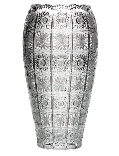 Krištáľová váza 500PK, farba číry krištáľ, výška 310 mm