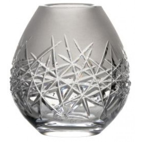Krištáľová váza Hoarfrost, farba číry krištáľ, výška 135 mm