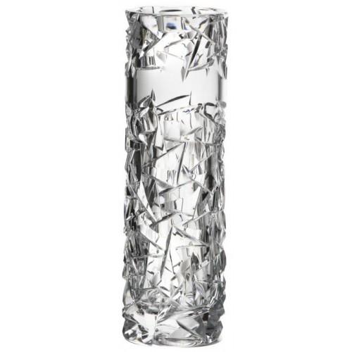 Krištáľová váza Floe, farba číry krištáľ, výška 205 mm