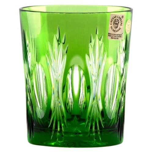 Krištáľový pohár Dandelion, farba zelená, objem 290 ml