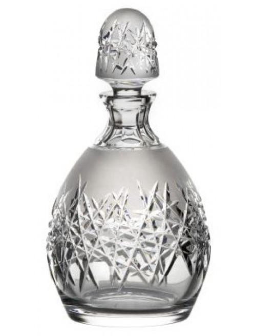 Krištáľová fľaša Hoarfrost, farba číry krištáľ, objem 700 ml