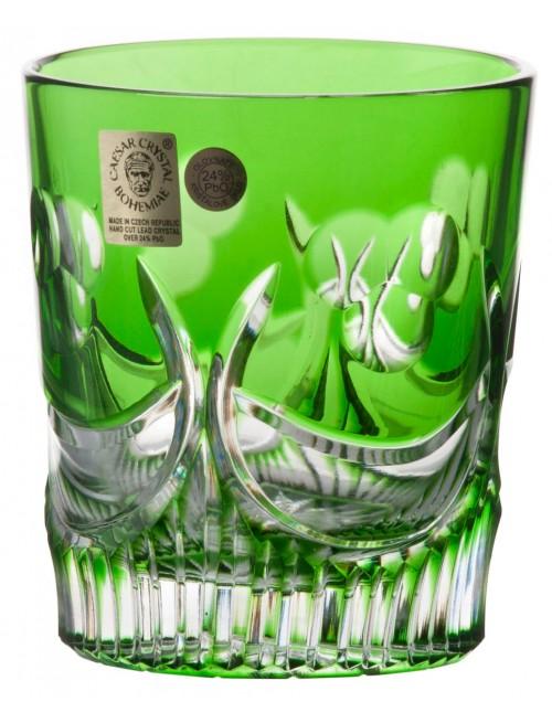 Krištáľový pohár Diadem, farba zelená, objem 290 ml