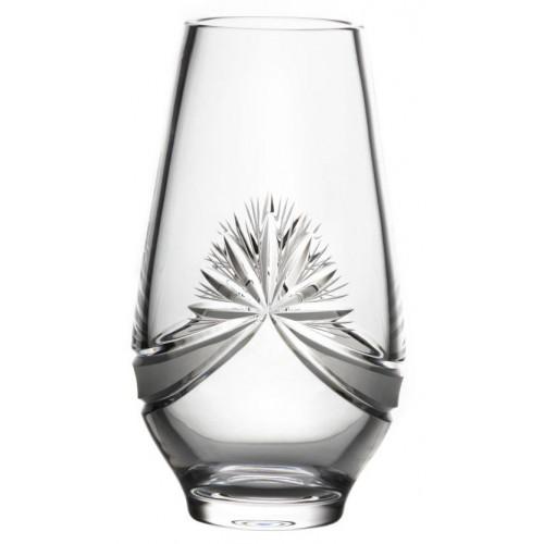 Krištáľová váza Mašľa, farba číry krištáľ, výška 305 mm
