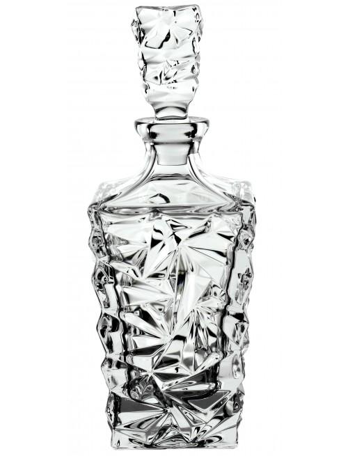 Krištáľová fľaša Glacier, farba číry krištáľ, objem 900 ml