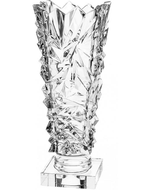 Krištáľová váza Glacier, farba číry krištáľ, výška 380 mm