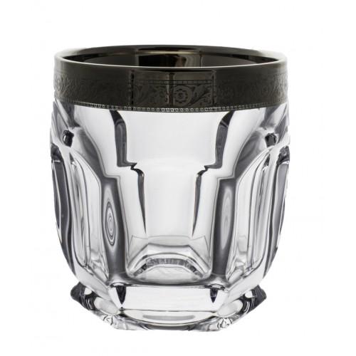 Set pohár Safari platina 6x, bezolovnatý crystalite, objem 250 ml