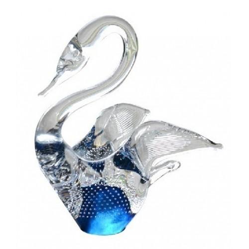 Labuť, hutné sklo výška 230 mm