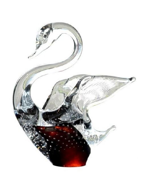 Labuť, hutné sklo, výška 200 mm