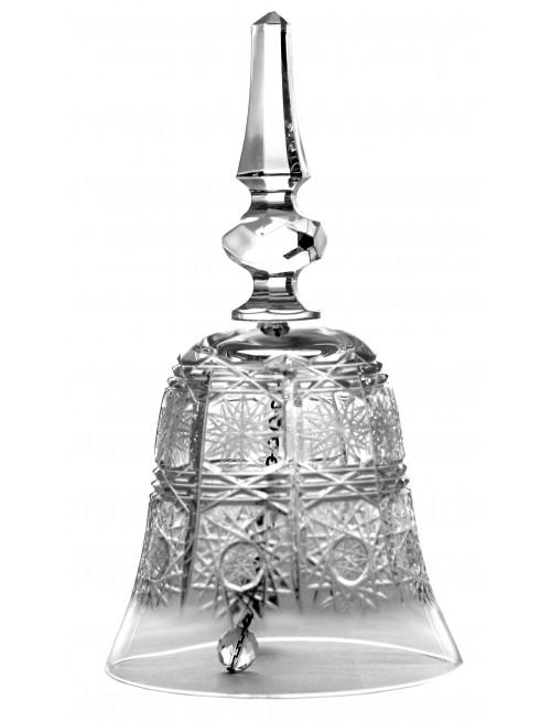 Krištáľový zvonček 500PK, farba číry krištáľ, výška 170 mm