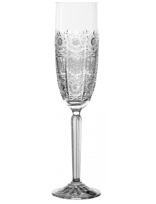 Krištáľový pohár na víno 500PK, farba číry krištáľ, objem 220 ml
