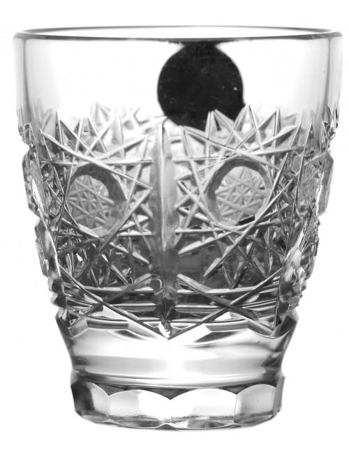 Krištáľový pohárik 500PK, farba číry krištáľ, objem 35 ml