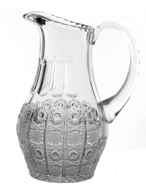Krištáľový džbán 500PK, farba číry krištáľ, objem 1200 ml