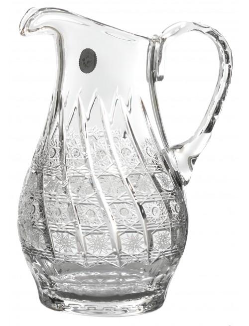 Krištáľový džbán 500PK, farba čirý krištáľ, objem 1200 ml