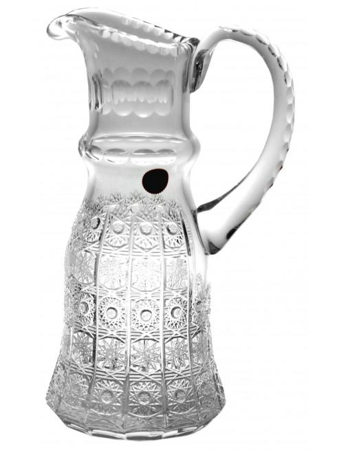 Krištáľový džbán 500pk, farba čirý krištáľ, objem 1500 ml