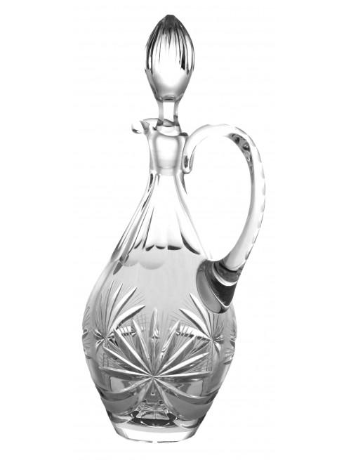 Krištáľová karafa Mašľa, farba číry krištáľ, objem 850 ml