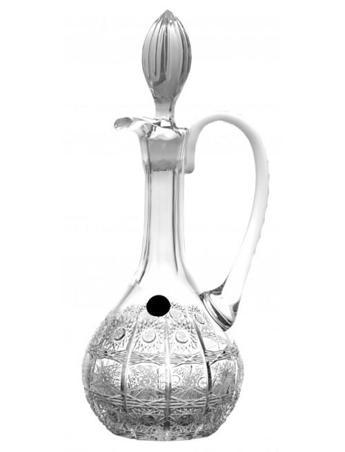 Krištáľová karafa 500PK, farba číry krištáľ, objem 850 ml