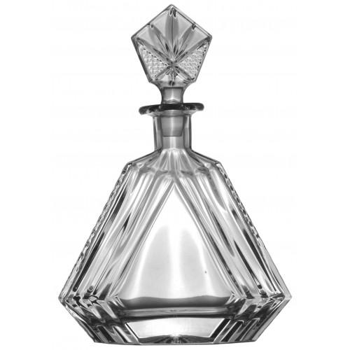 Krištáľová fľaša, farba číry krištáľ, objem 550 ml
