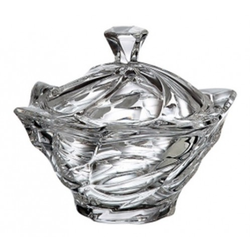 Dóza Flamenco, bezolovnatý crystalite, priemer 130 mm