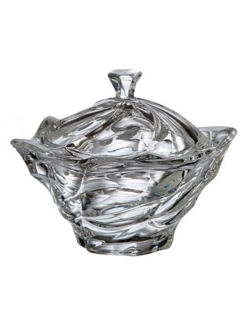 Dóza Flamenco, bezolovnatý crystalite, priemer 205 mm