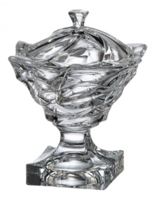 Dóza Flamenco, bezolovnatý crystalite, priemer 250 mm