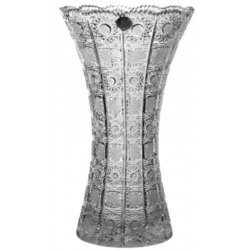 Krištáľová váza 500PK, farba číry krištáľ, výška 355 mm